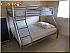 2 slaapkamers met ieder tweepersoonsbed en enkele bovenslaper