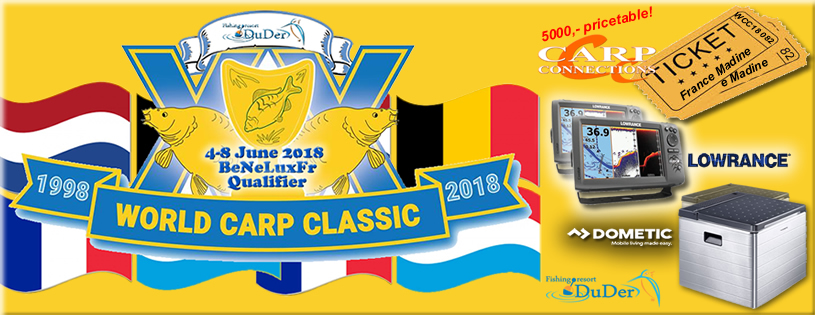 World Carp Classic Qualifier 2019 (Uitverkocht)