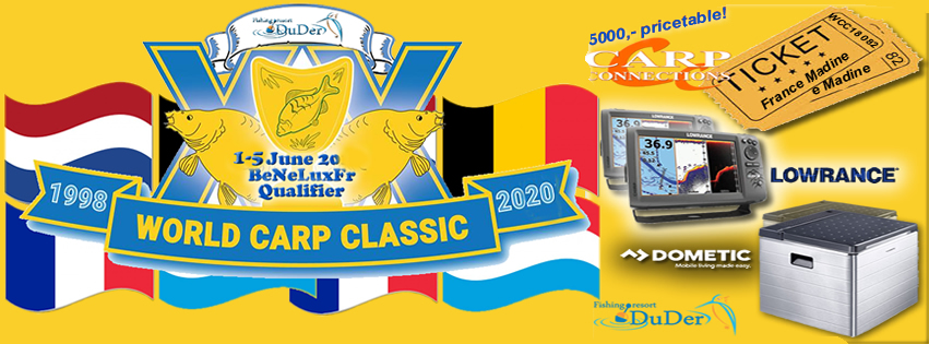 World Carp Classic Qualifier 2020 -Verplaatst!-