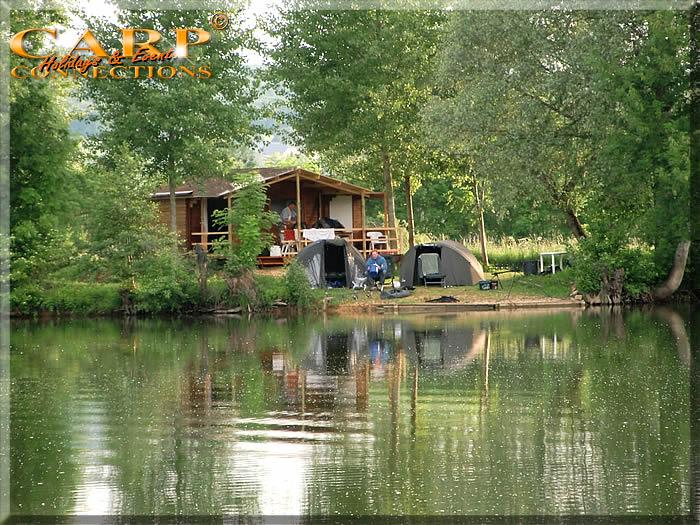 Old Pollard Lake: Stek 5, 2p. Cabin voor  twee vissers met 6 hengels