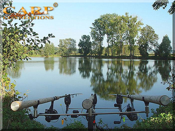 Old Pollard Lake: Stek 3, voor 1 visser met 3 hengels