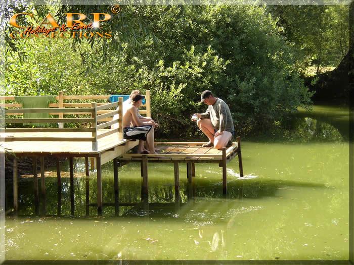 Old Pollard Lake: Stek 6 voor 1 visser met 3 hengels