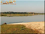 BERKLEY lake, Le Chenet: Stek 7+8 incl 2 vissers uitbreidbaar tot max 3 vissers