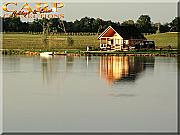 Etang de la Haije, (JRC-lake): Stek 3, 4p. Chalet incl. 2 vissers
